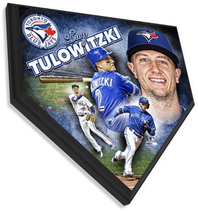 Troy Tulowitzki Home Plate Plaque