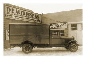 Truck at the Auto Hospital