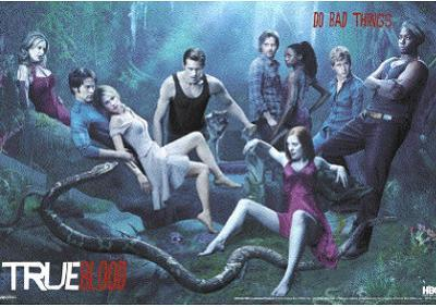 True Blood Do Bad Things 3-D Lenticular TV Poster Print