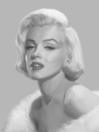 True Blue Marilyn