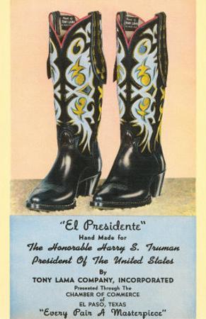 Truman's Cowboy Boots