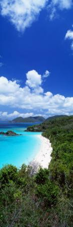 Trunk Bay, Saint John, US Virgin Islands, USA