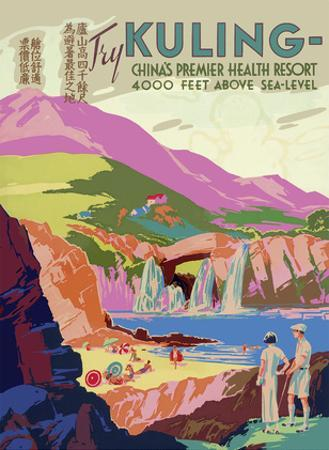 Try Kuling - China's Premier Health Resort 4000 Feet above Sea-Level - Yangtze River
