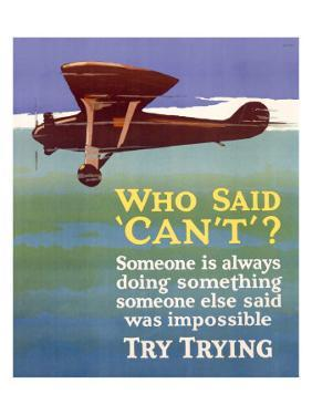 Try Trying Success