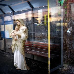 Madonna of the Bus-Stop, 2008 by Trygve Skogrand