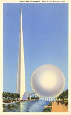 Trylon and Perisphere, New York World's Fair, 1939