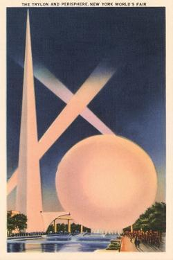 Trylon and Perisphere, Worlds Fair