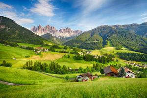 Dolomites Alps, Mountain - Val Di Funes by TTstudio