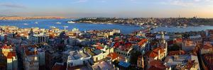 Istanbul Panorama from Galata Tower by TTstudio