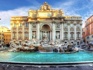 Trevi Fountain, Rome, Italy. by TTstudio