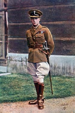 Edward, Prince of Wales, in Army Uniform, Early 20th Century by Tuck and Sons