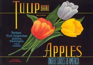 Tulip Apple Label