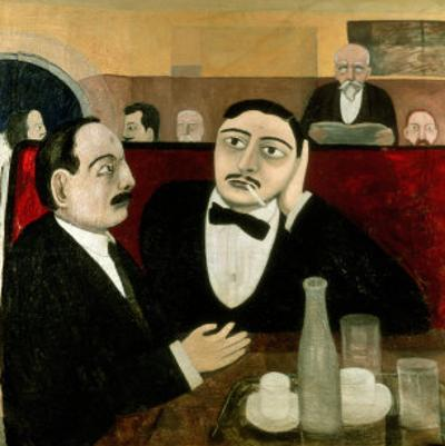The Intellectuals at the Cafe Rotonde, 1916