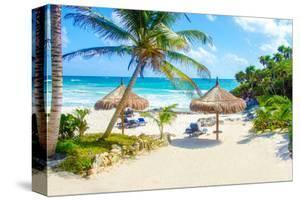 Tulum Beach Yucatan in Mexico