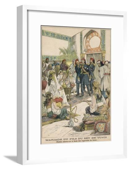 Tunisian Royal Marriage--Framed Giclee Print
