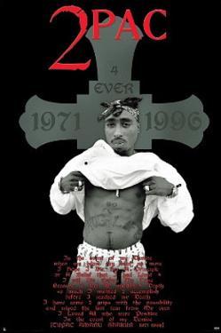 Tupac Shakur 4 Ever Music Poster Print