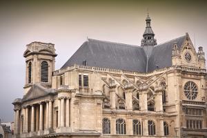 Paris Church by Tupungato