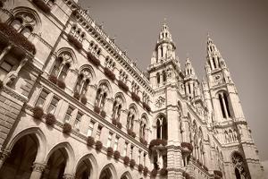 Vienna City Hall by Tupungato