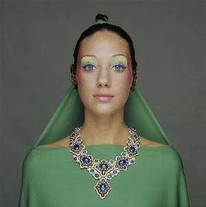 Vogue - September 1970 - Marisa Berenson in Bulgari Necklace by Turillazzi Gianni