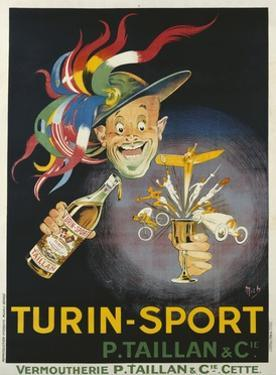 Turin-Sport Alcoholic Beverage Poster