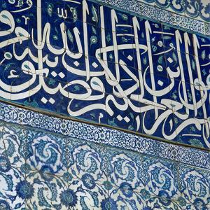Turkey. Istanbul. New Mosque. 17th Century. Ottoman Style. Decorated Tiles