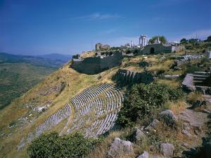 Turkey, Pergamum, Acropolis, the Theatre