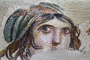 Turkey, Zeugma,House of the Gypsy Girl, Mosaic