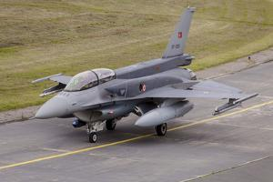 Turkish Air Force F-16D Block 52 with Conformal Fuel Tanks
