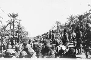 Turkish Prisoners of War, Ca. 1914