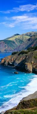Turquoise Pacific Waters, California
