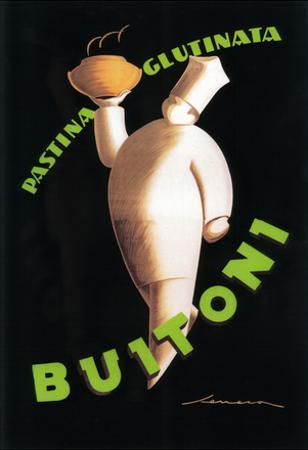 Tuscany, Italy - Buitoni Pasta Promotional Poster