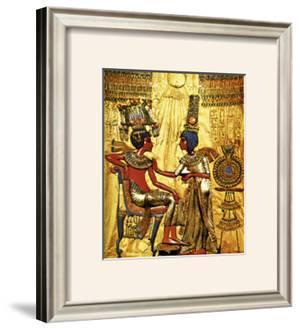 Tutankhamen Annointed by Wife