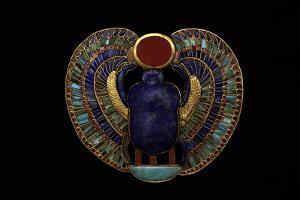 Tutankhamen, Scarab Pendant, Egyptian