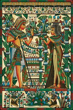Tutankhamun and Ankhesenamun