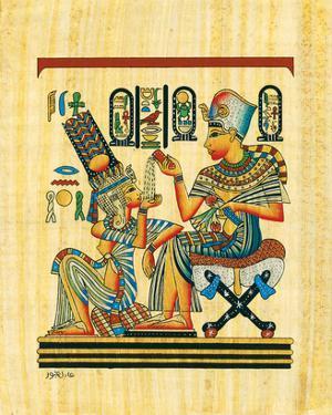 Tutankhamun and His Wife