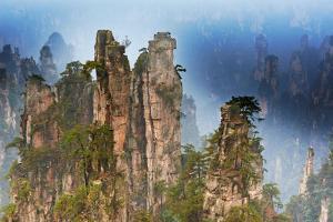 China, Zhangjiajie, Wulingyuan Scenic Area, Zhangjiajie National Forest Park by Tuul And Bruno Morandi