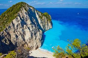 Greece, Ionian Island, Zante Island, Shipwreck Beach by Tuul And Bruno Morandi