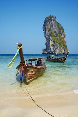 Ao Phra Nang Bay, Ko Poda Island, Krabi Province, Thailand, Southeast Asia, Asia by Tuul