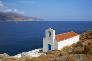 Chapel, Hora, Andros Island, Cyclades, Greek Islands, Greece, Europe by Tuul
