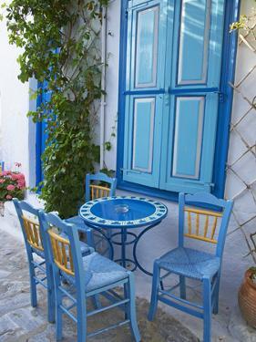 Chora, Amorgos, Cyclades, Aegean, Greek Islands, Greece, Europe by Tuul