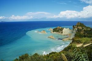 Drastis Cape Near Sidari Village. Corfu, Ionian Islands, Greek Islands, Greece, Europe by Tuul
