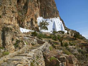Hozoviotissa Monastery, Amorgos, Cyclades, Greek Islands, Greece, Europe by Tuul