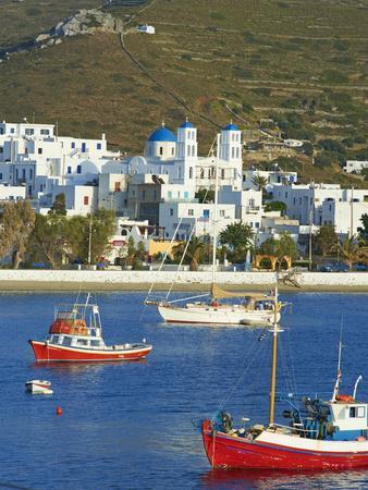 Katapola Port, Amorgos, Cyclades, Aegean, Greek Islands, Greece, Europe