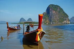 Phang Nga Bay, Ao Phang Nga Bay National Park, Krabi Province, Thailand, Southeast Asia, Asia by Tuul