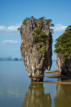 Phang Nga Bay, Ao Phang Nga National Park, Ko Khao Phing Kan Island by Tuul