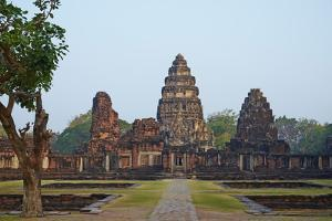 Phimai Khmer Temple, Ratchasima Province, Thailand, Southeast Asia, Asia by Tuul
