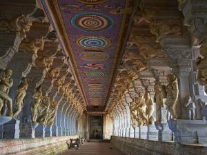 Ramanatha Swami, Rameswaram, Tamil Nadu, India, Asia by Tuul