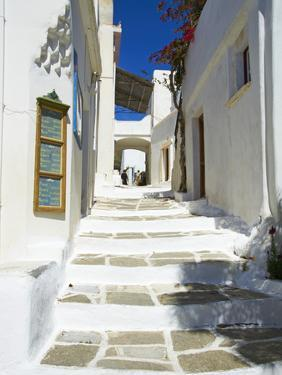 Traditional Village of Lefkes, Paros, Cyclades, Aegean, Greek Islands, Greece, Europe by Tuul