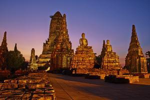 Wat Chai Wattanaram, Ayutthaya Historical Park, Ayutthaya, Thailand, Southeast Asia, Asia by Tuul