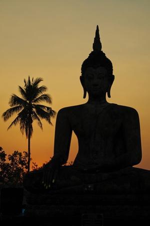 Wat Mahatat, Sukhothai Historical Park, Sukhothai, Thailand, Southeast Asia, Asia